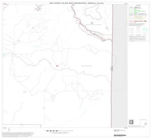 Primary view of object titled '1990 Census County Block Map (Recreated): Randall County, Block 12'.
