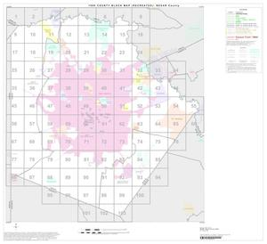 Primary view of object titled '1990 Census County Block Map (Recreated): Bexar County, Index'.