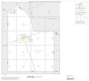 Primary view of object titled '1990 Census County Block Map (Recreated): Wilbarger County, Index'.