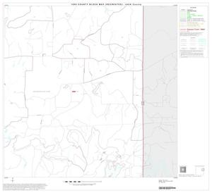 Primary view of object titled '1990 Census County Block Map (Recreated): Jack County, Block 8'.