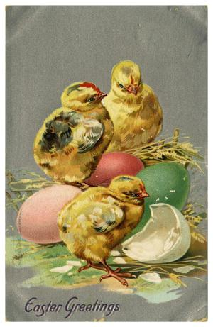Primary view of object titled 'Easter Greetings'.