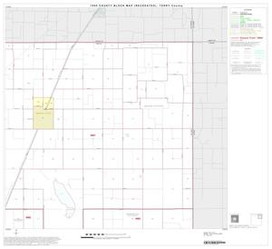 Primary view of object titled '1990 Census County Block Map (Recreated): Terry County, Block 3'.