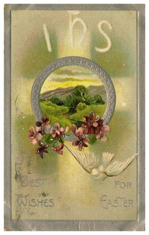 Primary view of object titled 'Best Wishes for Easter'.