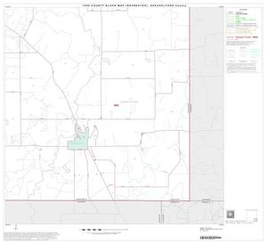 Primary view of object titled '1990 Census County Block Map (Recreated): Shackelford County, Block 16'.