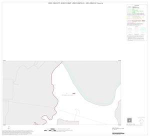 Primary view of object titled '1990 Census County Block Map (Recreated): Colorado County, Inset B01'.