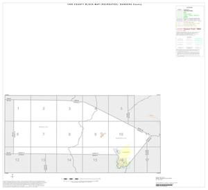 Primary view of object titled '1990 Census County Block Map (Recreated): Bandera County, Index'.