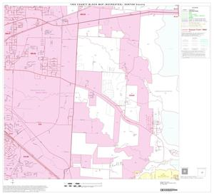 Primary view of object titled '1990 Census County Block Map (Recreated): Denton County, Block 29'.