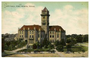 Primary view of object titled 'City Hall, Fort Worth, Texas'.