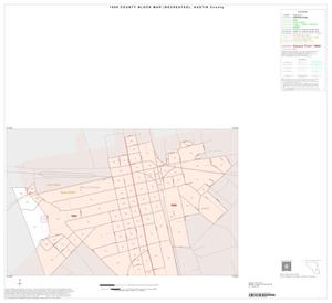 Primary view of object titled '1990 Census County Block Map (Recreated): Austin County, Inset D01'.
