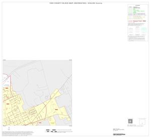 Primary view of object titled '1990 Census County Block Map (Recreated): Uvalde County, Inset C02'.