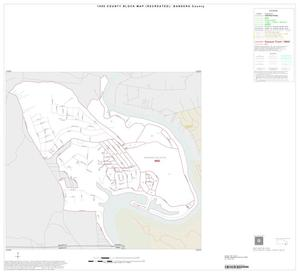 Primary view of object titled '1990 Census County Block Map (Recreated): Bandera County, Inset B01'.