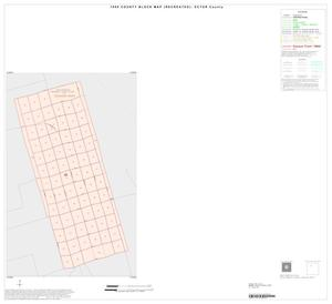 Primary view of object titled '1990 Census County Block Map (Recreated): Ector County, Inset A01'.