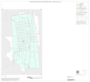 Primary view of object titled '1990 Census County Block Map (Recreated): Lavaca County, Inset A01'.