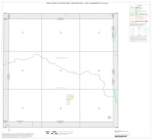 Primary view of object titled '1990 Census County Block Map (Recreated): Collingsworth County, Index'.