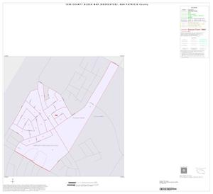 Primary view of object titled '1990 Census County Block Map (Recreated): San Patricio County, Inset H01'.