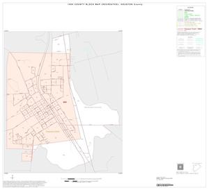 Primary view of object titled '1990 Census County Block Map (Recreated): Houston County, Inset A01'.