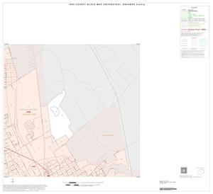 Primary view of object titled '1990 Census County Block Map (Recreated): Navarro County, Inset D02'.