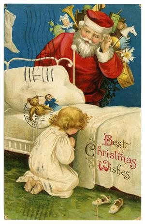 Primary view of object titled 'Best Christmas Wishes'.