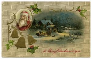 Primary view of object titled '[A Merry Christmas to You]'.