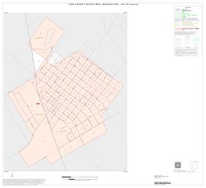 Primary view of object titled '1990 Census County Block Map (Recreated): Falls County, Inset C01'.