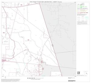 Primary view of object titled '1990 Census County Block Map (Recreated): Liberty County, Block 12'.