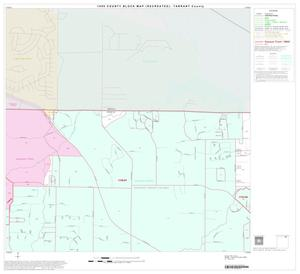 Primary view of object titled '1990 Census County Block Map (Recreated): Tarrant County, Block 8'.