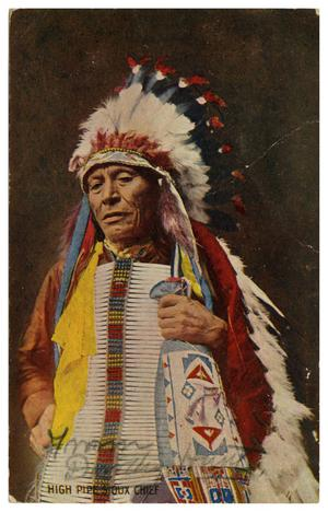 Primary view of object titled 'High Pipe Sioux Chief'.
