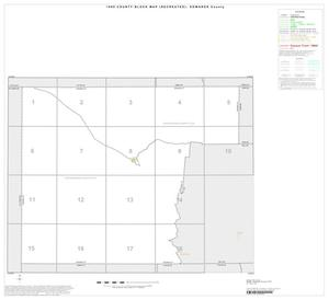 Primary view of object titled '1990 Census County Block Map (Recreated): Edwards County, Index'.