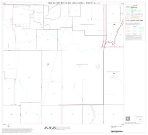 Primary view of object titled '1990 Census County Block Map (Recreated): Wichita County, Block 14'.