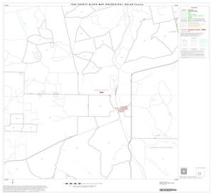 Primary view of object titled '1990 Census County Block Map (Recreated): Nolan County, Block 10'.