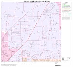 Primary view of object titled '1990 Census County Block Map (Recreated): Tarrant County, Block 28'.
