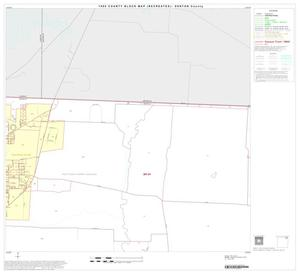 Primary view of object titled '1990 Census County Block Map (Recreated): Denton County, Block 7'.
