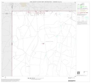 Primary view of object titled '1990 Census County Block Map (Recreated): Carson County, Block 1'.