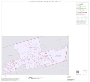Primary view of object titled '1990 Census County Block Map (Recreated): Midland County, Inset A01'.