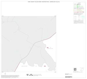 Primary view of object titled '1990 Census County Block Map (Recreated): Gonzales County, Inset G01'.