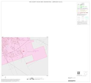 Primary view of object titled '1990 Census County Block Map (Recreated): Lampasas County, Inset C04'.