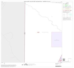 Primary view of object titled '1990 Census County Block Map (Recreated): Tarrant County, Block 71'.