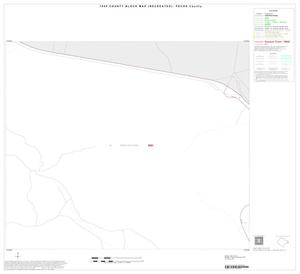 Primary view of object titled '1990 Census County Block Map (Recreated): Pecos County, Inset D19'.