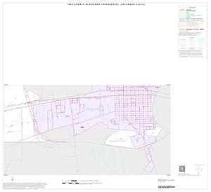 Primary view of object titled '1990 Census County Block Map (Recreated): Colorado County, Inset B06'.