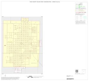 Primary view of object titled '1990 Census County Block Map (Recreated): Jones County, Inset D01'.