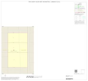 Primary view of object titled '1990 Census County Block Map (Recreated): Lubbock County, Inset G01'.