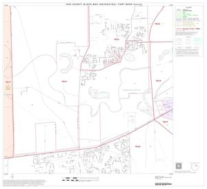 Primary view of object titled '1990 Census County Block Map (Recreated): Fort Bend County, Block 19'.
