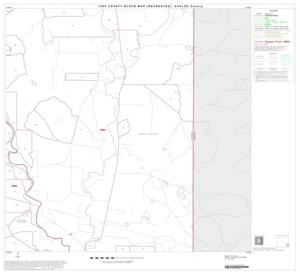 Primary view of object titled '1990 Census County Block Map (Recreated): Uvalde County, Block 20'.
