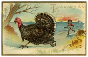Primary view of object titled 'Thanksgiving day'.