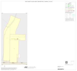 Primary view of object titled '1990 Census County Block Map (Recreated): Haskell County, Inset G01'.