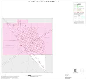 Primary view of object titled '1990 Census County Block Map (Recreated): Sherman County, Inset B01'.