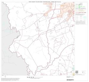 Primary view of object titled '1990 Census County Block Map (Recreated): Angelina County, Block 9'.