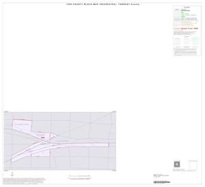 Primary view of object titled '1990 Census County Block Map (Recreated): Tarrant County, Inset D01'.