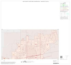 Primary view of object titled '1990 Census County Block Map (Recreated): Jim Wells County, Inset C01'.