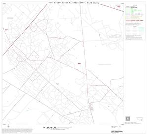 Primary view of object titled '1990 Census County Block Map (Recreated): Ward County, Block 21'.